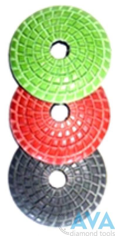 Диск алмазный радиальный шлифовально-полировальный - 2