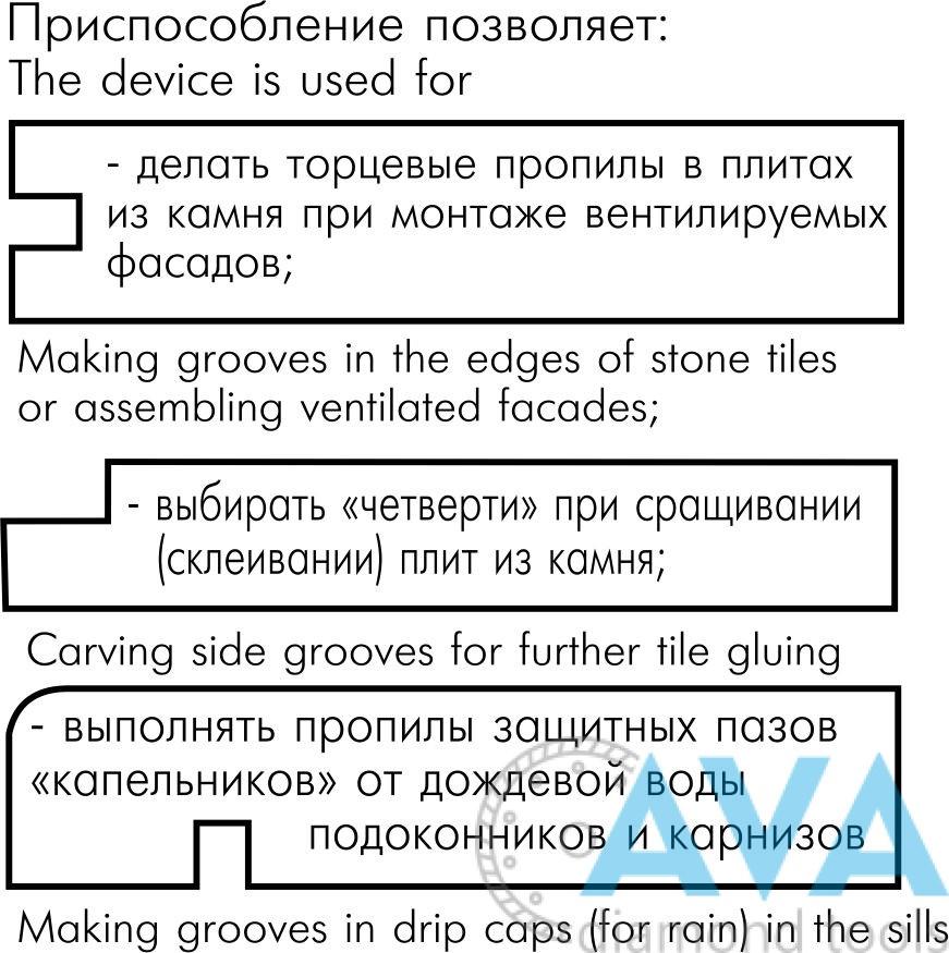 """Для торцевых пазов и """"капельников"""" - 1"""