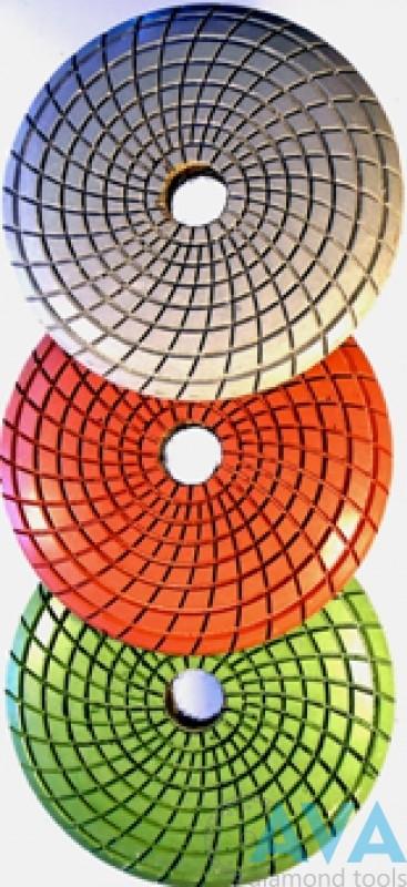 Диск алмазный радиальный шлифовально-полировальный - 1