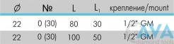 Инсрумент для станков с CNC 01.04 - 1